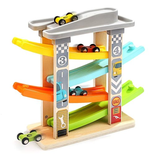 Milly & Ted Wooden Ramp Racer