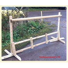 Horse Jump with Adjustable Wings Filler and Pole - UP TO 8 WEEK WAIT