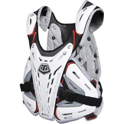 (Universal, White) Troy Lee Designs Rockfight Youth Chest Protector