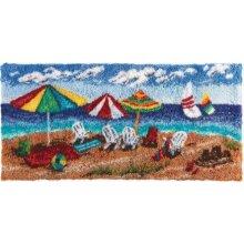 Beach Rug Latch Hooking Kit (100x50cm)