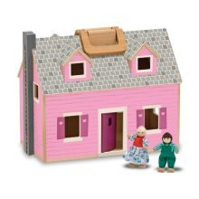 Melissa & Doug Fold & Go Dollhouse by ToyCentre