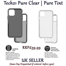 Tech21 Protective Ultra Thin Back Cover Case with BulletShield Protection For Apple iPhone 11