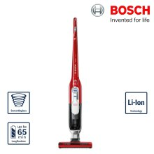 Bosch BBH65PETGB Athlet Cordless Upright Vacuum Cleaner 25.2V PET Tornado Red - Refurbished