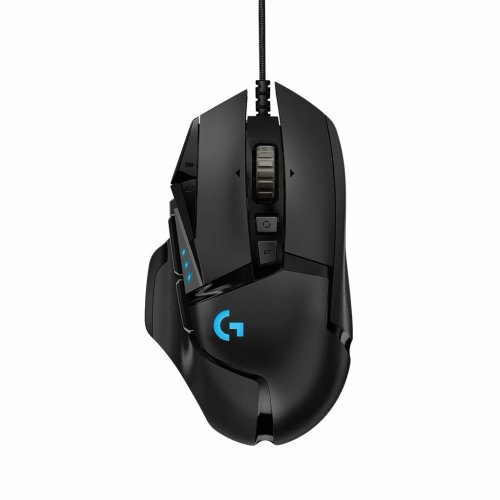 Logitech G502 HERO Gaming Mouse with HERO Sensor (RGB Mice, 16'000 DPI, 11 Programmable Buttons, Laptop PC Computer Mouse, 5 Adjustable Weights,...