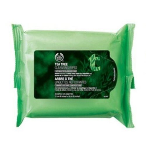 Tea Tree Cleansing Wipes -  wipes tea tree cleansing 25 facial face make up 100 50 daily use