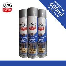 Cold Galv Zinc & Rust Block King of Paints 600ml Sprays