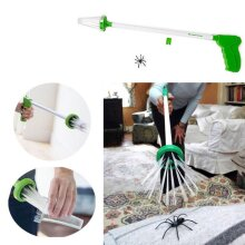 Spider Catcher Humane Fun Friendly Insects Bugs 2ft Reach Home Grabber Trap New