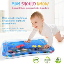 Inflatable Patted Pad - Baby Water Cushion Pat Toy