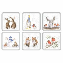 Pimpernel Wrendale Christmas Coaster Set of 6 Product Code: X0010268976