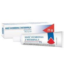 Protective Ointment Vitamin A Masc Witamina A 800 Retimax Hasco 25g