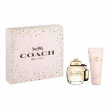 Coach New York Gift Set, EDP 50ml, Perfumed Body Lotion 100ml