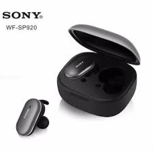 Sony WF-SP920 True Wireless Bluetooth Noise Reduction Headset Earphone with Charging Box