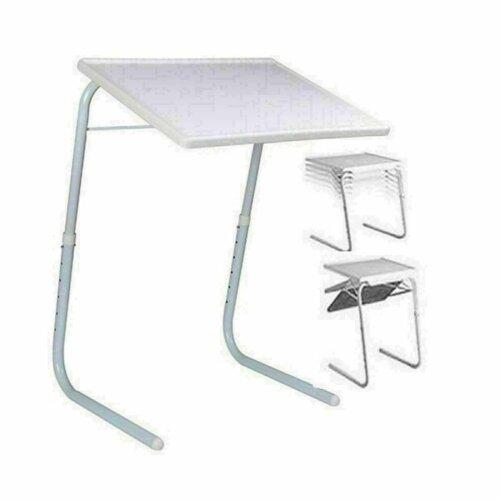 Adjustable Table Mate II Portable TV Dinner Laptop Tray Folding Desk