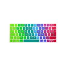 i-Buy Silicone Keyboard Cover Film for Apple Magic Keyboard,Keybaord Skin Protector[EU English Layout]- Rainbow