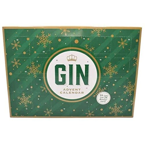 Gin Advent Calendar 2020 Edition, Countdown to Christmas, By Blue Tree (Green)