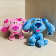 Blues Clues & You Plush Blue Pink Dog Kids Toys