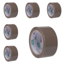 54 Rolls Of Brown Strong Parcel Packing Tape 48mm x 66m