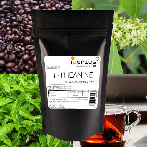Nutrics® 350mg L THEANINE Vegan Capsules
