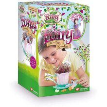 My Fairy Garden Teacup Garden Toy Kitchen Playsets, For Age 4 Years And Up- Multicolor