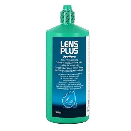 AMO Lens Plus OcuPure Saline 360ml