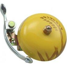 bicycle bell Suzu Aki 5 x 5,5 cm steel yellow