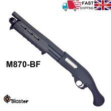 Bolt Action M870 Gel Ball Blaster Toy Gun Shooter Water Pellets Magfed