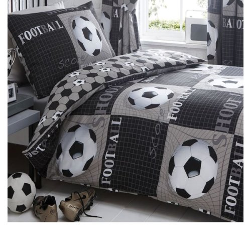 Shoot, Football Single Bedding