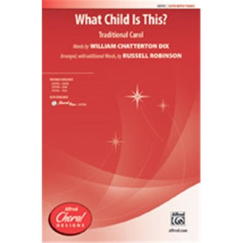 Alfred 00-39796 WHAT CHILD IS THIS-STRX CD