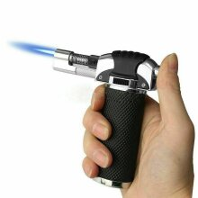 Refillable Blow Torch Flame Kitchen Chef Cook Food Light Fire BBQ