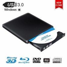Blu-ray Drive 4K 3D USB 3.0 Portable Blu-ray BD CD DVD Player Reader