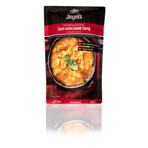 South Indian Lamb Curry Cooking Sauce Medium Spiced Pack of 5