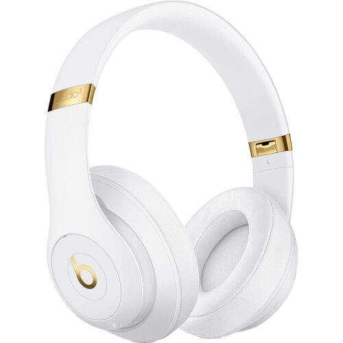 Beats by Dr. Dre Studio3 Wireless Bluetooth Headphones (White Core)