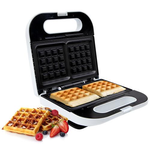 Geepas 815W Waffle Maker, 2 Slice Non-Stick Electric Belgian Waffle