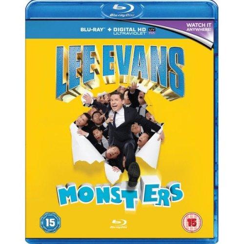 Lee Evans - Monsters Live Blu-Ray [2014]