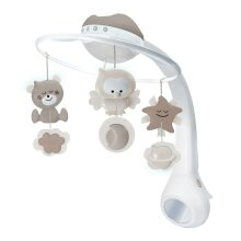 Infantino 3 in 1 Projector Musical Mobile Grey