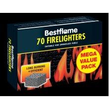 Zip Bestflame Firelighters 70 [SB092238]