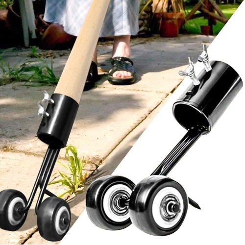 Lawn 2-in-1 Weed Snatcher & Extractor Tool With Wheels