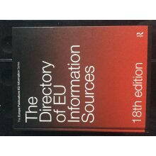The Directory of EU Information Sources, 18th Edition - Used