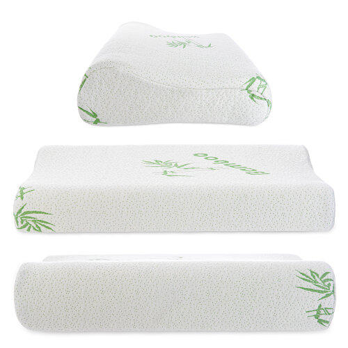 Contour Memory Foam Pillow Neck Back Support Orthopaedic Firm Head My Pillows CERVICAL PILLOW