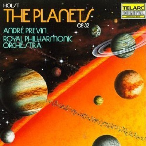 Royal Philharmonic Orchestra and Andre Previn - Gustav Holst: the Planets, Op 32 [CD]