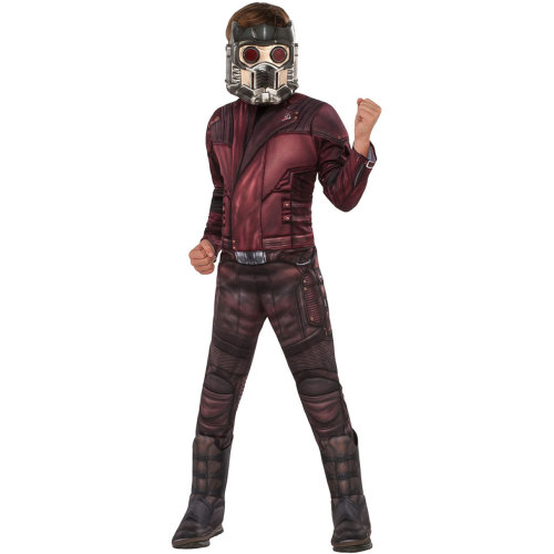 Kids Official Deluxe Guardians of the Galaxy Star-Lord Costume | Avengers Endgame Superhero