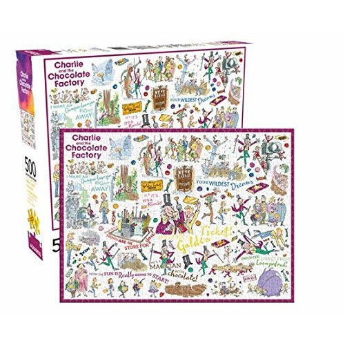 Puzzle - NMR - Dahl- Charlie (500pc) New Licensed 62154