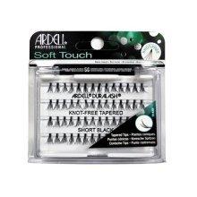 Ardell Soft Touch KnotFree Eyelash, Black, Short