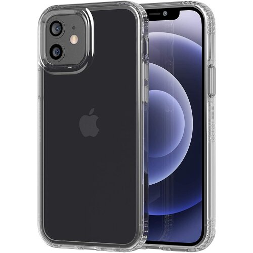 Tech21 Evo Clear Impact Case Cover for Apple iPhone 12/12 Pro -  T21-8379