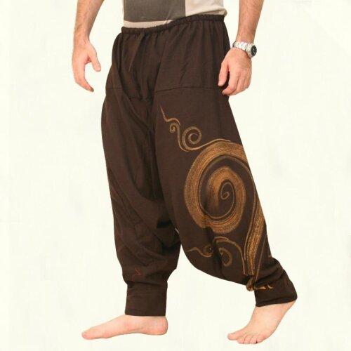 Men Pants Harem Elastic Casual Baggy Yoga Harem Pants Hip-hop Men Gypsy Loose Pants