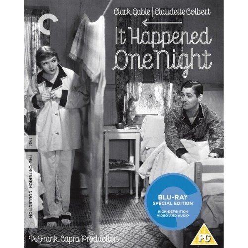 It Happened One Night - Criterion Collection Blu-Ray [2016] - Used