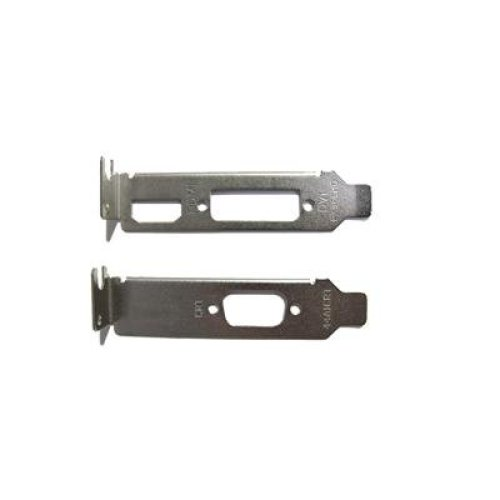 2 X Low Profile Brackets for Graphics Cards Fits Dvi + Hdmi And Vga LPBRACKETSwHD