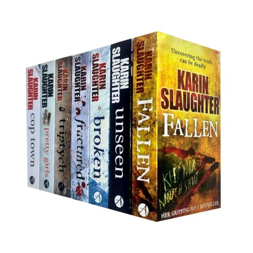 Karin Slaughter 7 Books Collection Set Will Trent Series