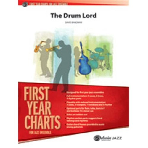 Alfred 00-38667 DRUM LORD, THE-JFY