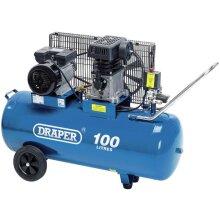 Draper 31254 100L Belt-Driven Air Compressor (2.2kW)